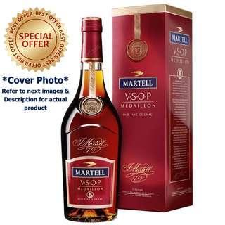 Martell VSOP Medaillon Old Fine Cognac J Martell 1715 V.S.O.P