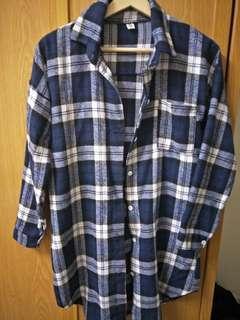 🚚 韓國格子襯衫外套