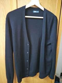 🚚 Net針織黑色開襟外套 針織外套