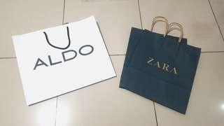 UPDATE Paper bag Zara, Aldo NEW