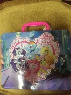 My Little Pony Tin Can and Puzzle