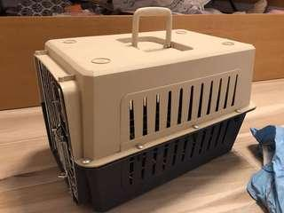 Portable dog crate