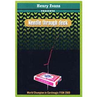 Needle Thru Deck Magic Trick