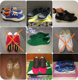 各品牌二手鞋便宜賣,全部大降價,晚來就沒了