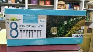 天生拍賣_LED 戶外太陽能燈8入組