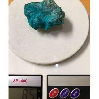 美國天然藍寶石塊破盤價出清 課堂教材用 聚寶盆內裝藏用 可加工外框製作天然藍寶墜 亦可做收藏價值總重約85公克
