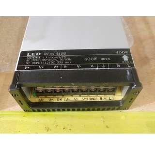 DC 12V 33A 400W Power Supply Switch Converter for LED Strip