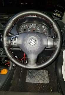 Suzuki, chevrolet and Fiat Steering Wheel upholstery by wheelskinz