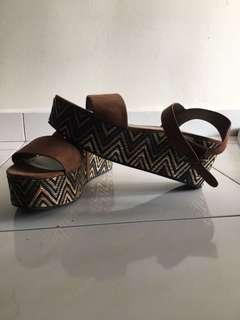 Authentic Charles & Keith wedges