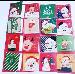 Christmas Card @$5/pc (8.3cm x 8.3cm)