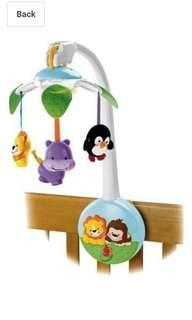 Fisher-Price  Fisher-Price Precious Planet Wind Up Cot/ mobile