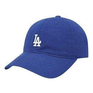 MLB 寶藍色棒球帽 洛杉磯道奇隊鴨舌帽 Los Angeles Dodgers 老帽