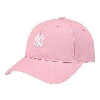 韓國免稅帶回MLB 紐約洋基隊棒球帽 粉紅老帽 鴨舌帽 New York Yankee