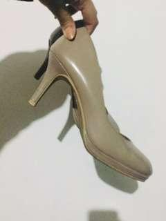 Payless shoes / nude shoes / high heels / beige stilettos