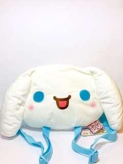 🚚 #caroupayzerofees Sanrio Cinnamoroll Backpack Plush
