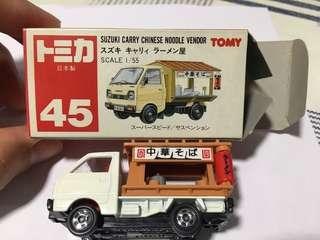 Tomy 45 日本製 Suzuki Carry Chinese Noodle Vendor