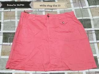 White stag skirt