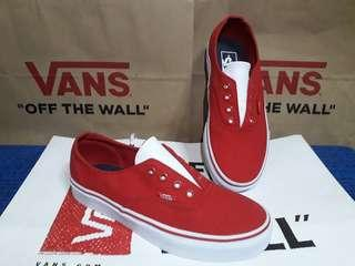 Auth Gore Racing Red (Leather Canvas)