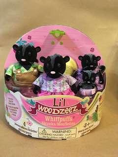 森林家族類別 Lil Woodzeez skunks/Mouffettes