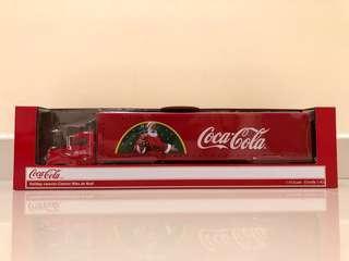 可口可樂 Led聖誕貨櫃車 1/43