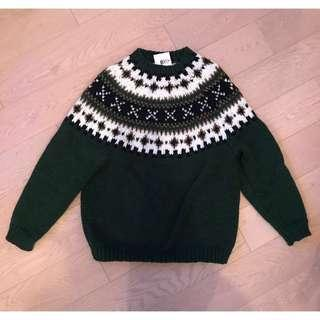 冰島花紋手織冷衫 Icelandic style knitwear