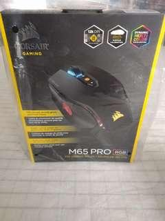 CORSAIR M65 Pro RGB - FPS Gaming Mouse - 12,000 DPI Optical Sensor - Adjustable DPI Sniper Button - Tunable Weights