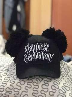 🚚 Tokyo DisneySea - Tokyo Disney Resort 35 Year Happiest Celebration Mickey Hat in Black