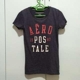 AEROPOSTALE GRAY SHIRT