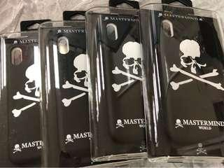 Mastermind World iPhone X case (Made in JAPAN)