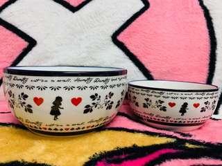 愛麗斯陶瓷碗一套