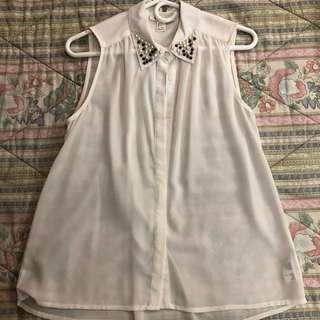 Forever 21 collared blouse
