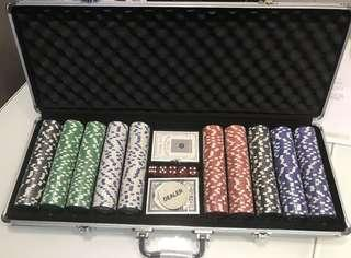 *BRAND NEW* 1000pcs Texa Poker Chip Set