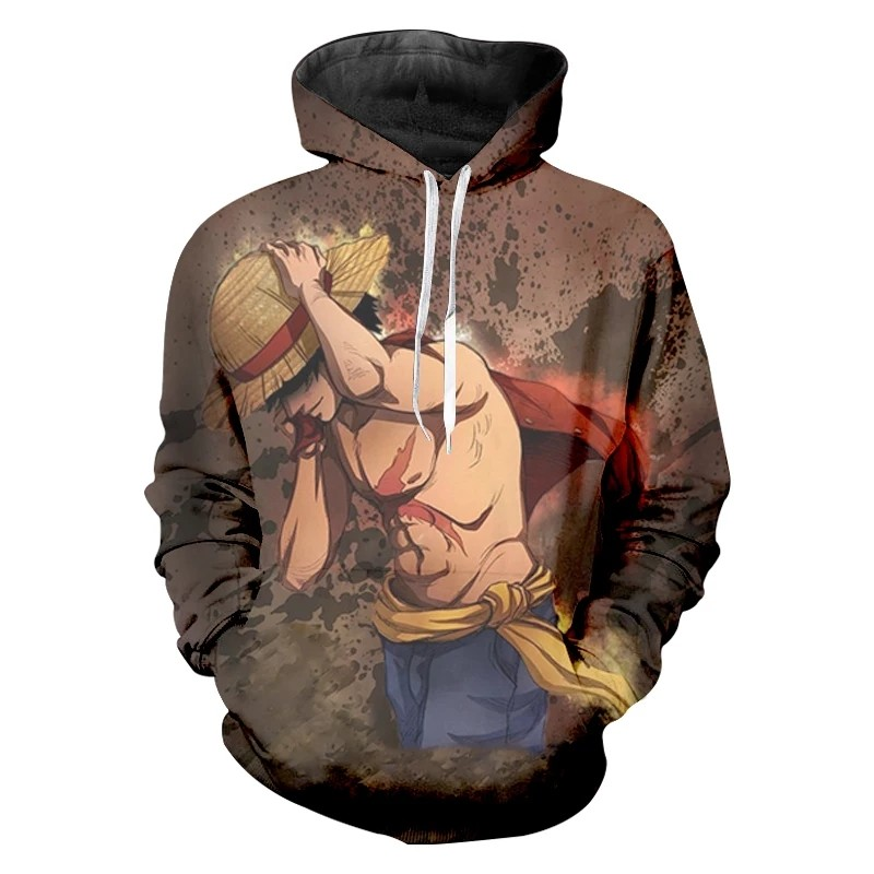 3d298baa2c 3D Anime Hooded new design😍👍🏻, Men's Fashion, Clothes, Tops on ...