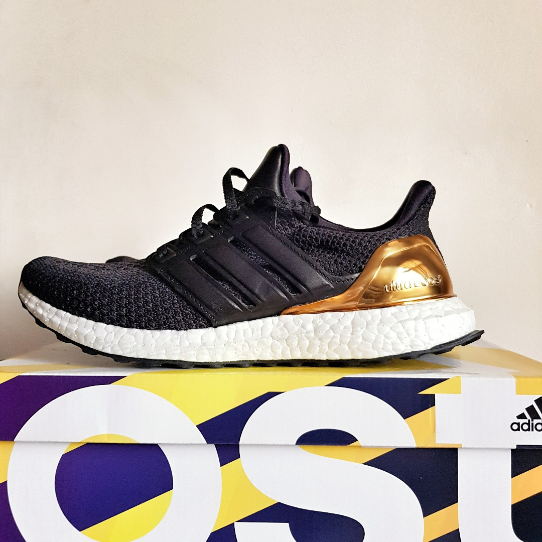 30119cff819 adidas Ultra Boost 2.0 Gold Medal UK8