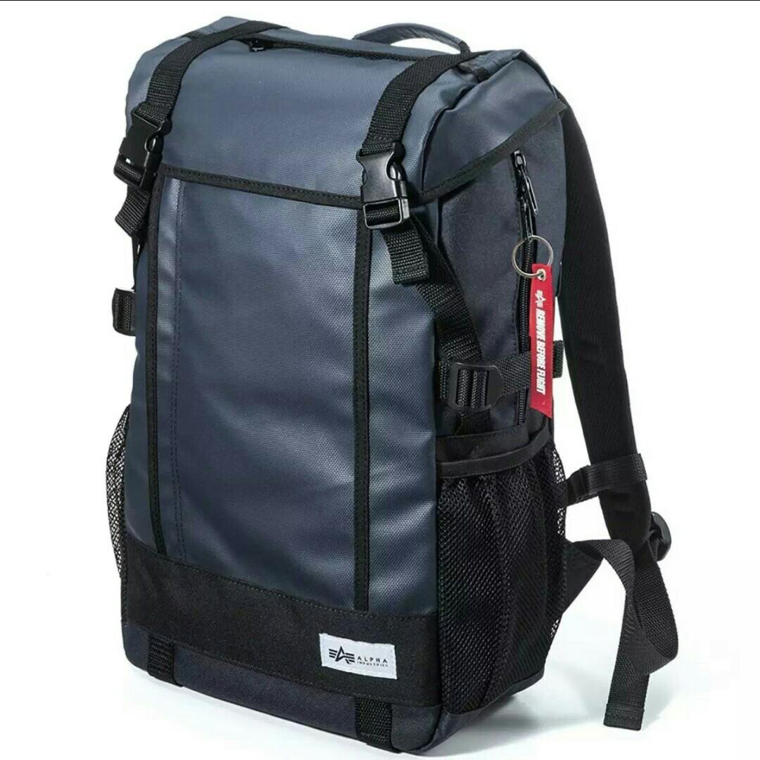Alpha Industries Premium Waterproof Backpack   Laptop Bag (From ... 9fc635983ea98