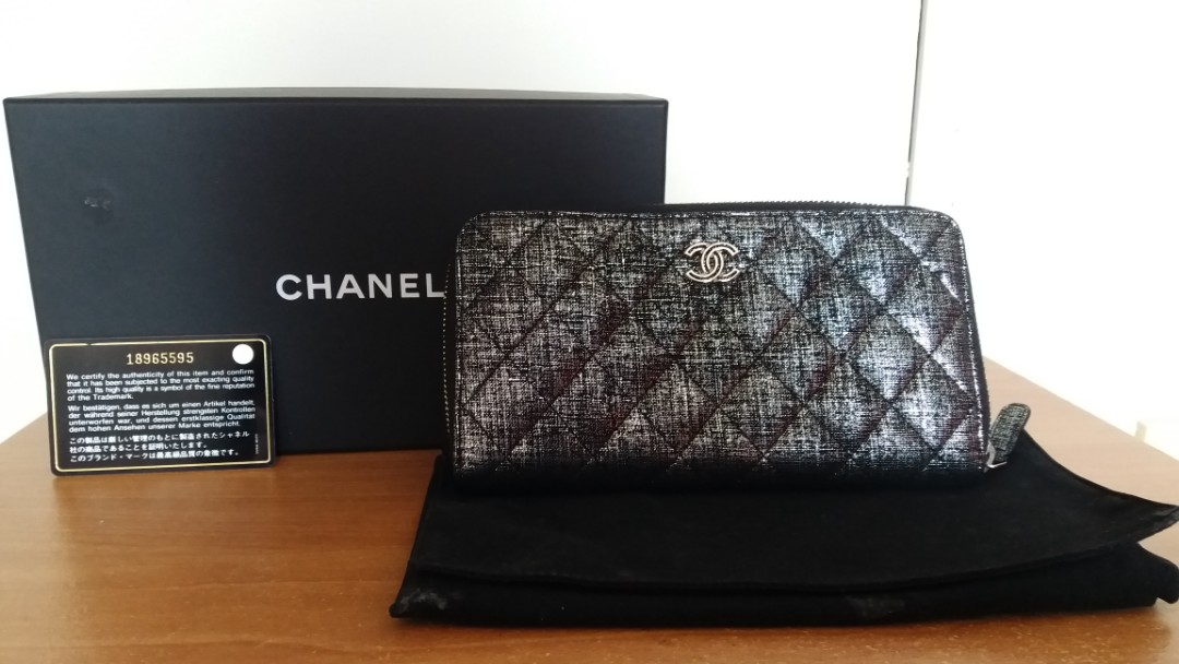 bfdd70a29ca3 Authentic Chanel ladies long purse