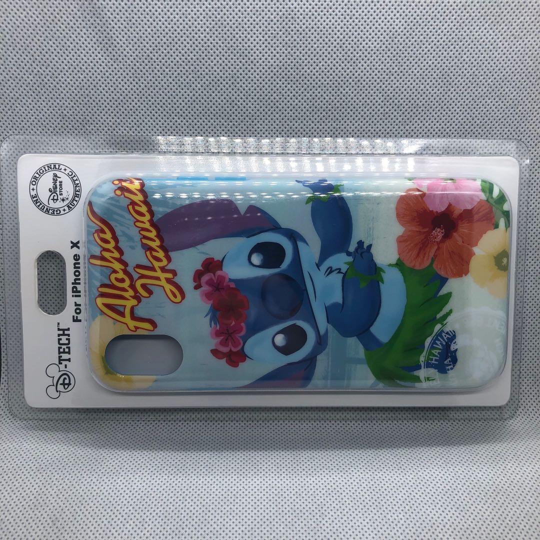 premium selection b1be7 94643 Authentic Japan Disney Store Stitch IPhone X Case