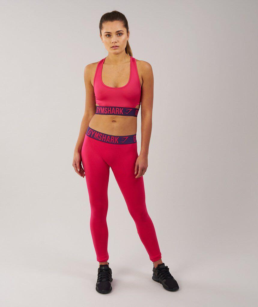 e513af7960b77 BN Gymshark Fit Sports Bra Cranberry Rich Purple