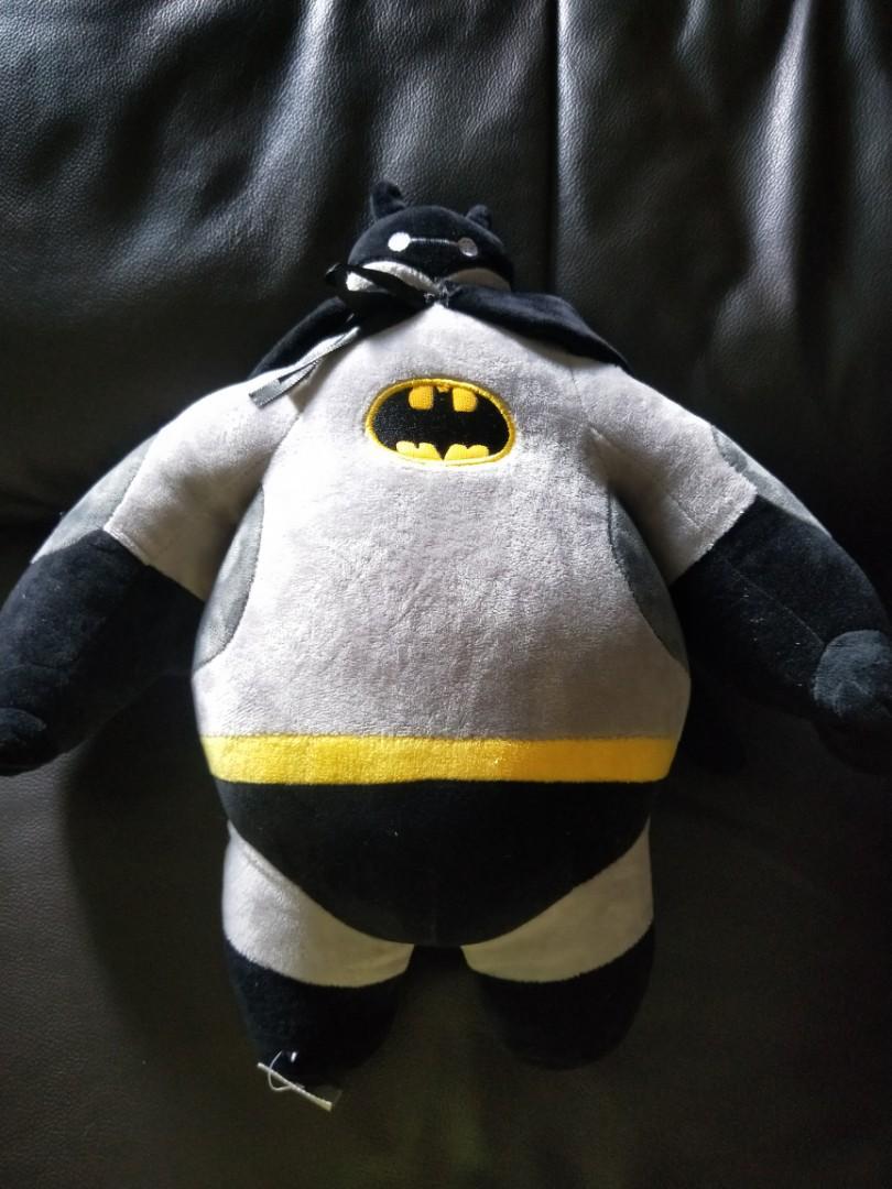 Bnwt Baymax batman plushie