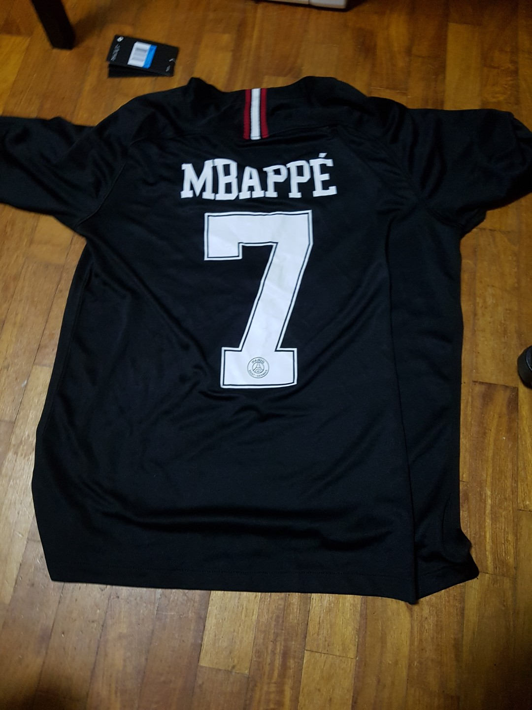 best service cba5f edf78 AUTHENTIC!!!!*BRAND NEW WITH TAGS* Psg 2017/18 Mbappe jordan jersey
