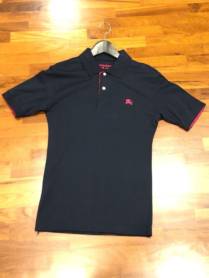 8b8339c2f3f85 Burberry Black Label Polo T