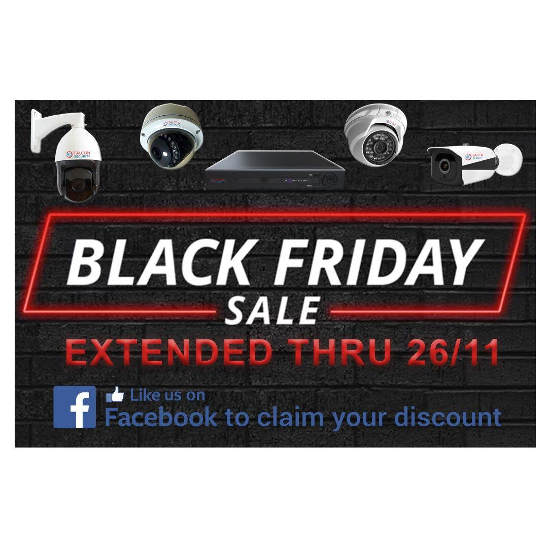 Cctv Hd And Full Hd Camera Package Black Friday Sale Extended Electronics Others On Carousell