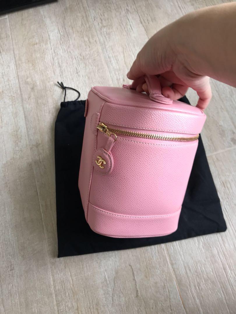 Chanel vintage vanity bag