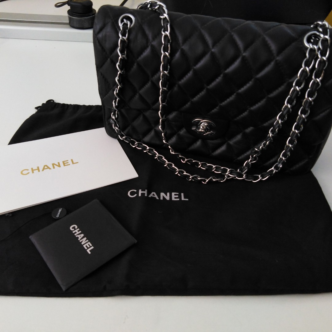 ed119dd5887b Chan*l classic flap bag (large size) best price, Luxury, Bags ...