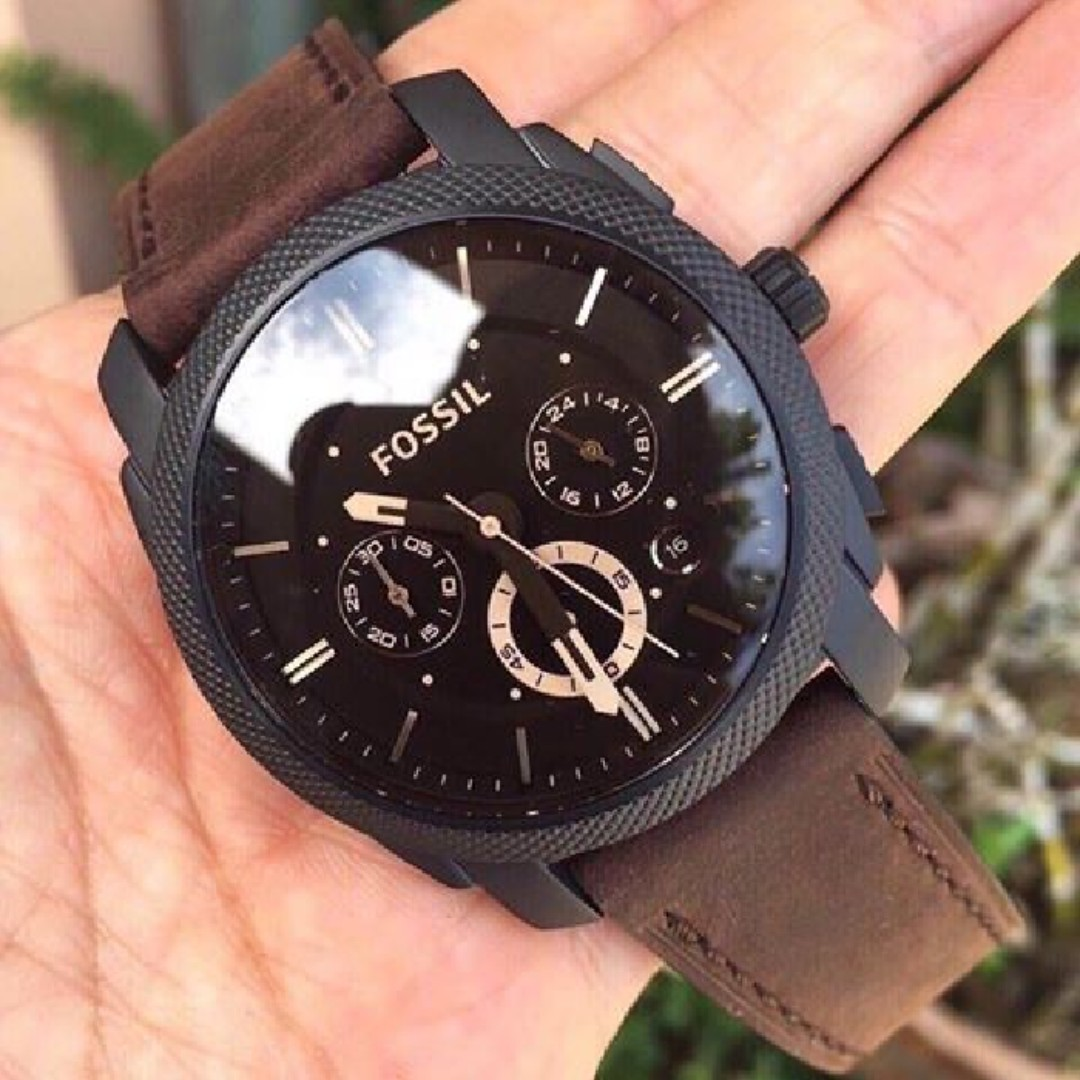 085e8228c9a9 Christmas Special SALE  Fossil Machine Chronograph Brown 42mm Dial ...