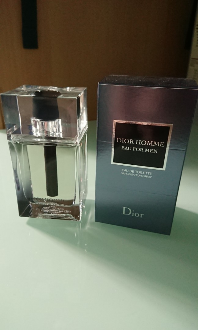 659bc7a6b91 Dior Homme Eau for Men EDT 100ml Authentic