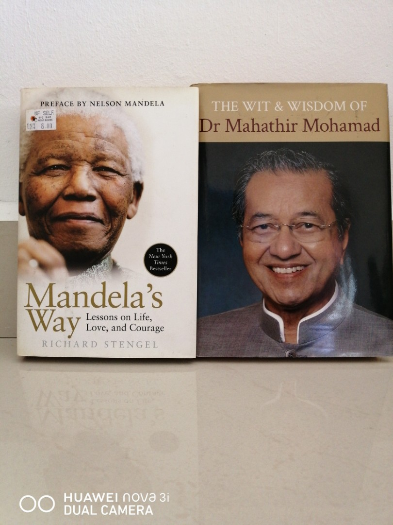 Image result for Mahathir and Mandela