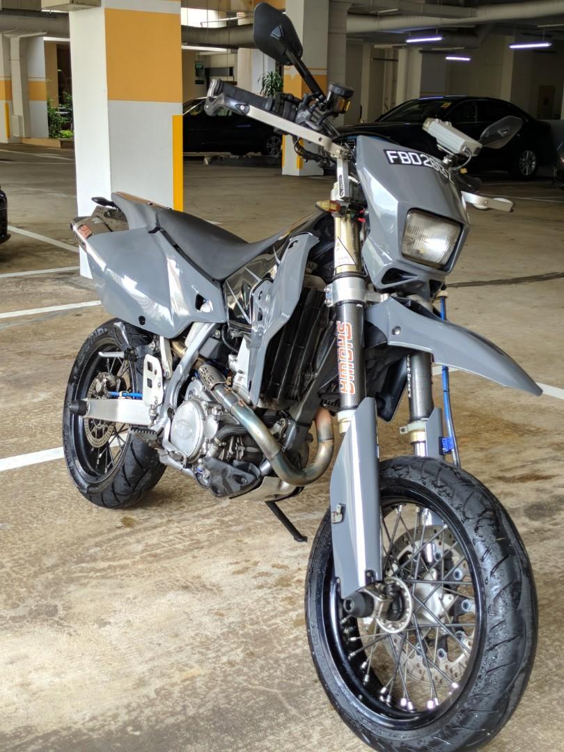 DRZ400SM BREMBO + YOSHI + HOTCAMS, Motorbikes, Motorbikes