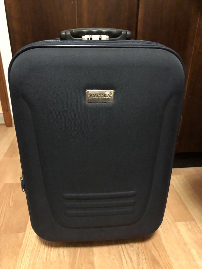 "91fdb42b36 Emcora 22"" travel suitcase"