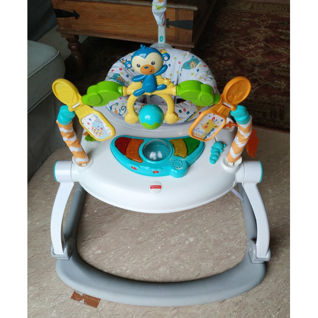 de996276d Fisher Price Rainforest Friends Spacesaver Jumperoo